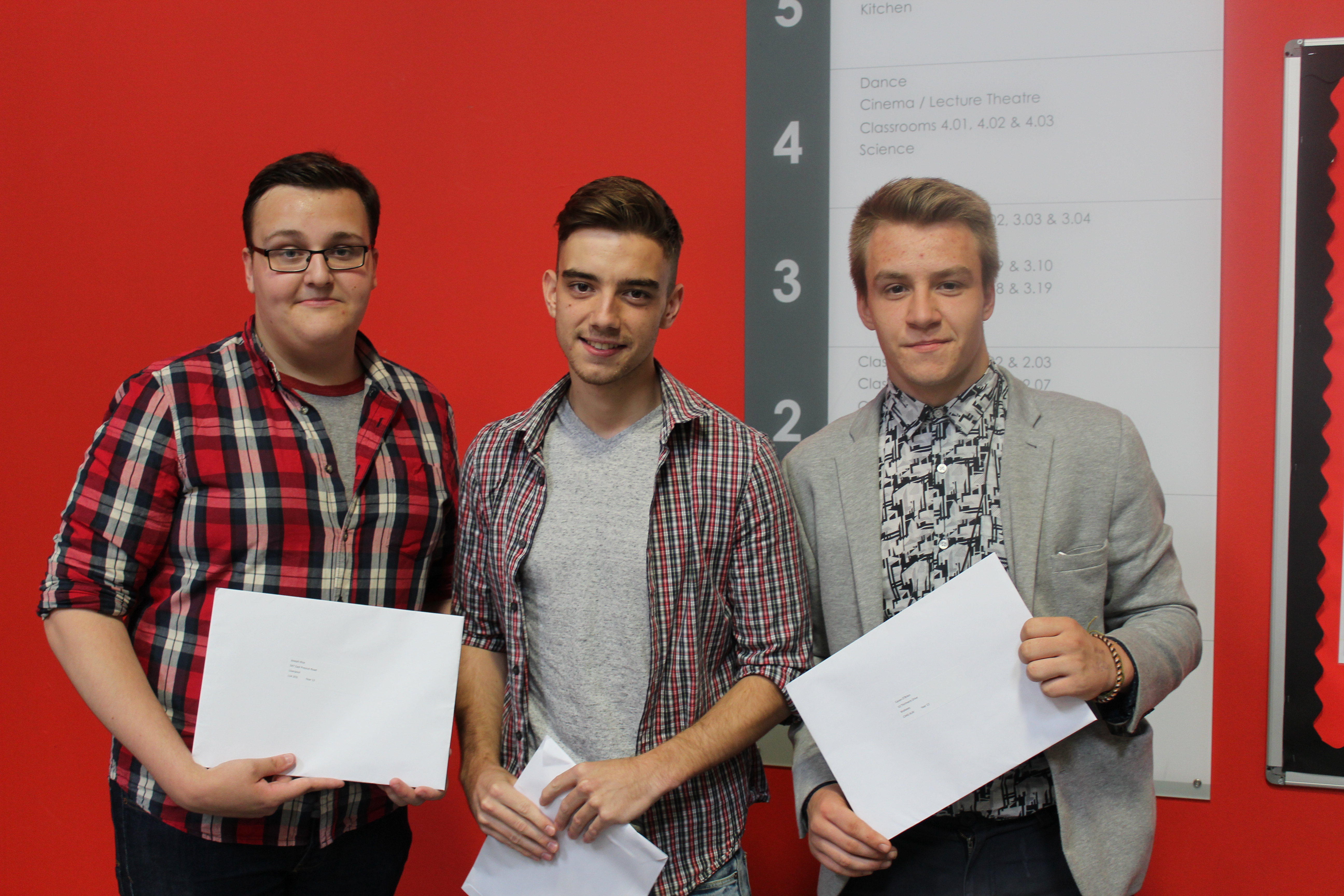 Students Celebrate GCSE Achievement | The Studio